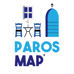Paros Map – by MasterFold S.A Λογότυπο